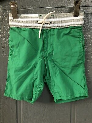 Gap Shorts Toddler Boys Green Pull On, 18-24M, New With Tags