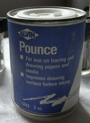 Calligraphy Supplies - unused box of Pounce - used to improve paper for ink