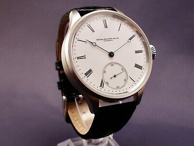 Patek Philippe & Co.Stainless Steel Watch. Engraved Chronometer Movement.