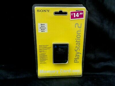 New And Sealed Sony Playstation 2 Ps2 Memory Card 8Mb