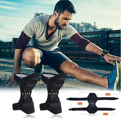 1 Pair Power Lift Joint Knee Stabilizer Pads Rebound Spring Force Support