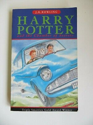PB Harry Potter & the Chamber of Secrets Paperback Book 1st Edition 21st Print