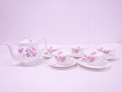 4301949: Noritake STUDIO COLLECTION PORCELAIN TEA CUP & SAUCER WIT POT SET