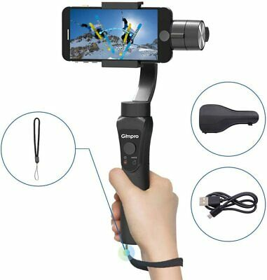UK Stock | Gimpro 3-Axis Handhold Gimbal Stabilizer For Smartphones 240g Payload