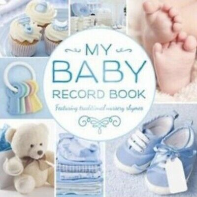 My Baby Record Book Boy Blue by Hinkler Books (Hardback, 2015)