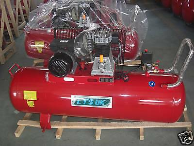 AIR COMPRESSOR 100 LTR NEW  WARRANTY NEW  + free parts washer