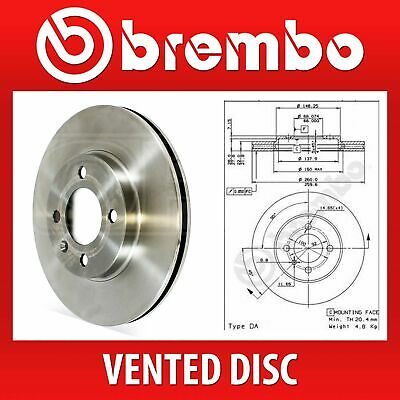 Brembo Front Pair Vented Brake Discs 09.4883.10 - Fits BMW