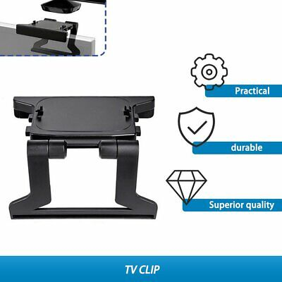 TV Clip Mount Mounting Stand Holder for Microsoft Xbox 360 Kinect Sensor KW