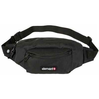 Element Posse Hip Sack Unisex Black Walking Belt Bag