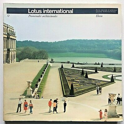 Lotus international n. 52 Promenades Architecturales Luigi Ghirri Land Art raro