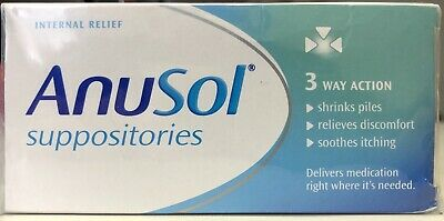 Anusol - Set of 3X24 suppositories,, Health, Care, Beauty
