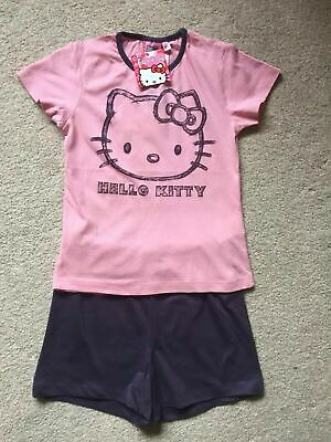 Bnwt Girls Pyjamas Set Hello Kitty Size 6 Years