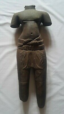 A STANDING FIGURE OF A MALE DEITY 'KULEN' STYLE. FRAGMENTED TORSO. STONE. 9th C.
