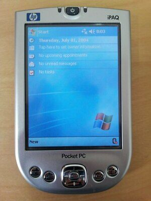 HP iPAQ H4150 PDA Win Mobile for Pocket PC 2003 400 MHz + Accessories