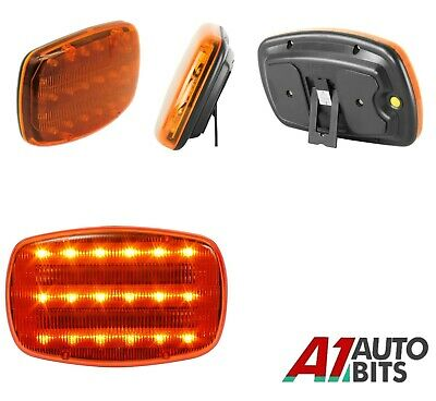 12v Led Amber Warning Roof Light Recovery Flashing Magnetic Beacon AA Battery