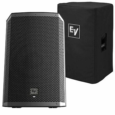 """Electro-Voice ZLX-12BT 12"""" 1000W Powered Bluetooth DJ PA Speakers with Cover Use"""