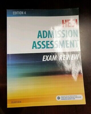 Admission Assessment Exam Review 4th Edition by Hesi Textbook Paperback