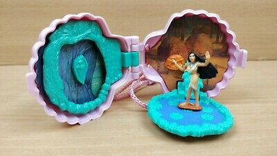Vintage Disney Polly Pocket Style Pocahontas complete necklace 1996