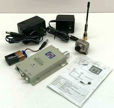 LYD 208C 50MW Wireless Camera and Receiver Set