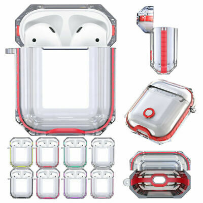 For Apple AirPods Case Clear Protective AirPod Charging Earphones Case Cover