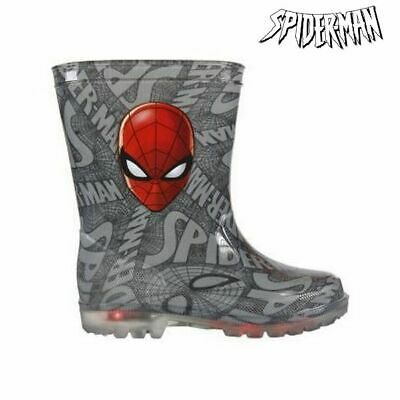 Kinder Gummistiefel mit LEDs Spiderman 72768