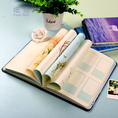 B5 Night Creativity 1pc Journal Diary Hard Cover Lined Paper Planner Notebook