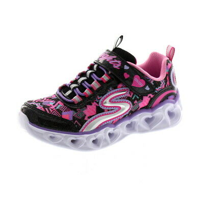 Skechers Lights Heart Lights 20180L Blinklichter SMLT Kinderschuhe