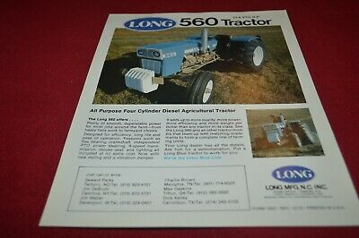 Long 560 Tractor Dealers Brochure AMIL15