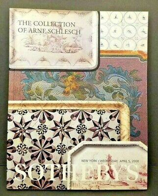 SOTHEBY'S Auction Catalog 2000 THE COLLECTION OF ARNE SCHLESCH