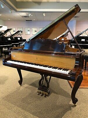 """2014 Rosewood Steinway & Sons Louis XV 501 """"M"""" Grand Piano"""