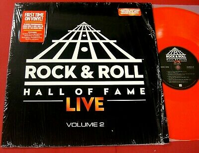 "ROCK & ROLL HALL OF FAME ""LIVE"" VOLUME 2""  2016, Orange & Red Marble vinyl NM/NM"
