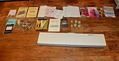 Brother KH-836 Standard Gauge Punchcard Knitting Machine + INSTRUCTIONS MANUALS