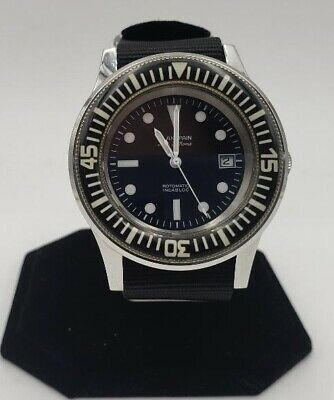 Blancpain Fifty Fathoms Rotomatic Military dive Watch Homage