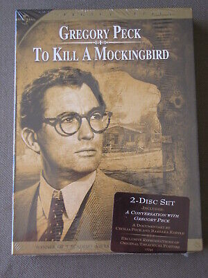 2 Disc Set DVD Gregory Peck TO KILL A MOCKINGBIRD SEALED / NEW