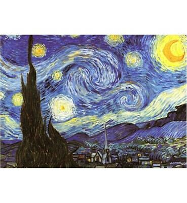 1000 piece jigsaw puzzle- The Starry Night (High Quality European Blue Board)