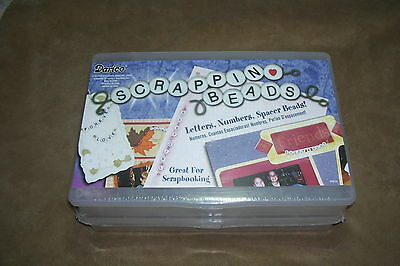 Scrapbooking Bead Kit With Container, New
