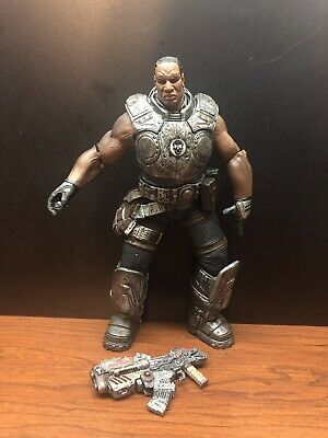 Gears of War GOW Augustus Cole Collectible Action Figure Toy NECA W/ Extra Gun