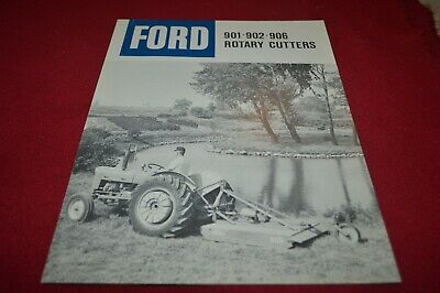 Ford Tractor 901 908 906 902 Rotary Cutter Dealer/'s Brochure LCPA3