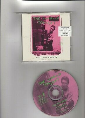 Paul McCartney (Beatles)CD Single Pro The World Tonight from movie:Father's Day