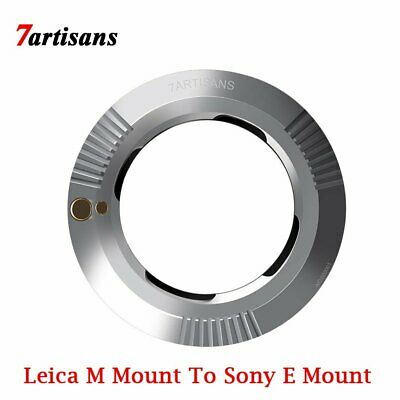7artisans Lens Adapter for Leica M-Mount To Sony E Mount A6000 A6500