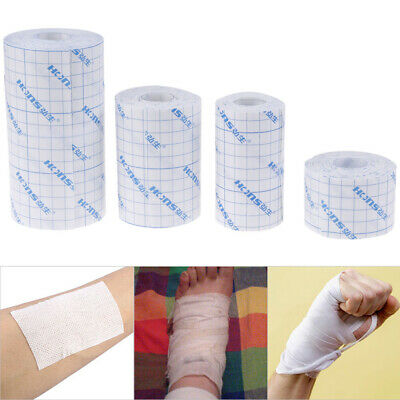 1Roll Waterproof Adhesive Wound Dressing Medical Fixation Tape Bandage ZB SS