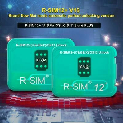 R-SIM14 V18/12+V16 Nano Unlock RSIM Card for iPhone XS MAX/XR/8/7/6 iOS12 11 Lot