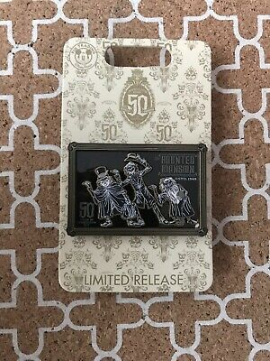 Disney Pin Haunted Mansion 50th Anniversary Limited Release Hitchhiking Ghosts
