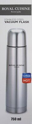 Stainless Steel Vacuum Flask - Hot or Cold - 750ml