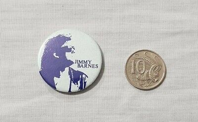 Vintage Jimmy Barnes Button Badge / Pin