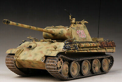 Built Dragon 1/35 SdKfz.171 Panther G Zimmerit 12 SS Hitlerjugend,Ready2Go