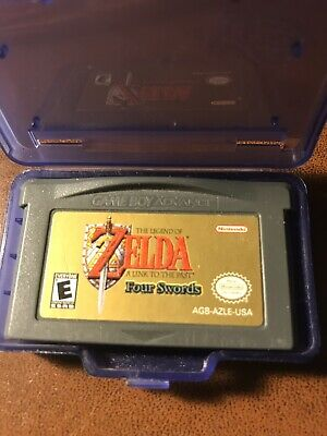 Legend of Zelda: A Link to the Past - Nintendo Game Boy Advance 2002 Authentic
