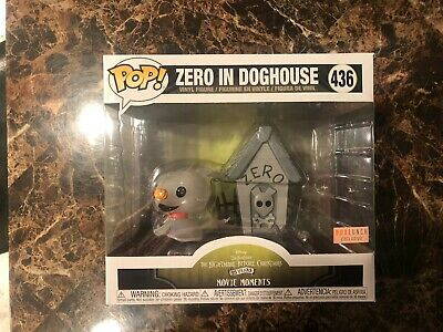 Funko Pop! Zero in Doghouse 436 Movie Moment Nightmare Before Christmas BoxLunch