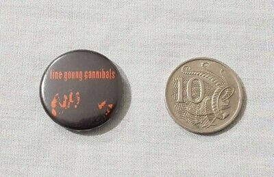 Vintage Fine Young Cannibals Button Badge / Pin