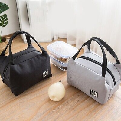 Lunch Bag Insulated Food Storage Bag Portable Waterproof Travel Work Lunch Box